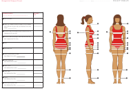 """Weight and Shape Tracking Chart Template"""