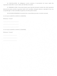 """""""Real Estate Lease Agreement Template"""", Page 11"""