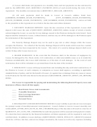 """""""Real Estate Lease Agreement Template"""", Page 2"""