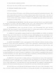 """""""Real Estate Lease Agreement Template"""", Page 9"""