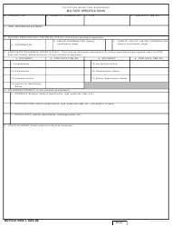 DD Form 2554-7 Tdp Option Selection Worksheet - Military Specifications