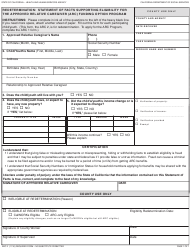 "Form ARC2 ""Redetermination: Statement of Facts Supporting Eligibility for the Approved Relative Caregiver (ARC) Funding Option Program"" - California"