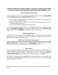 "Form 12.902(C) ""Family Law Financial Affidavit (Long Form)"" - Florida"