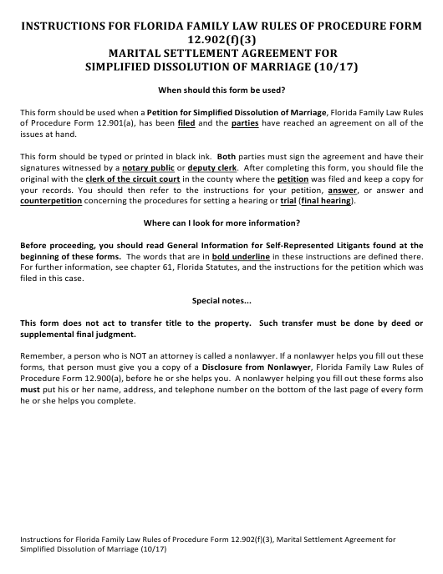 Form 12.902(F)(3)  Printable Pdf