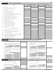 """IRS Form 1065-B """"U.S. Return of Income for Electing Large Partnerships"""", Page 5"""