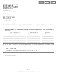 Form BCA 11.39 Articles Of Merger Between Illinois Corporations And Limited Liability Companies - Illinois