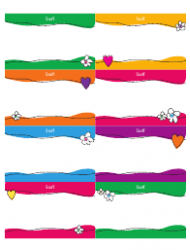 Name Tags Template - Staff