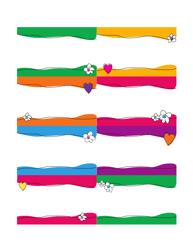 Multicolor Name Tag Templates