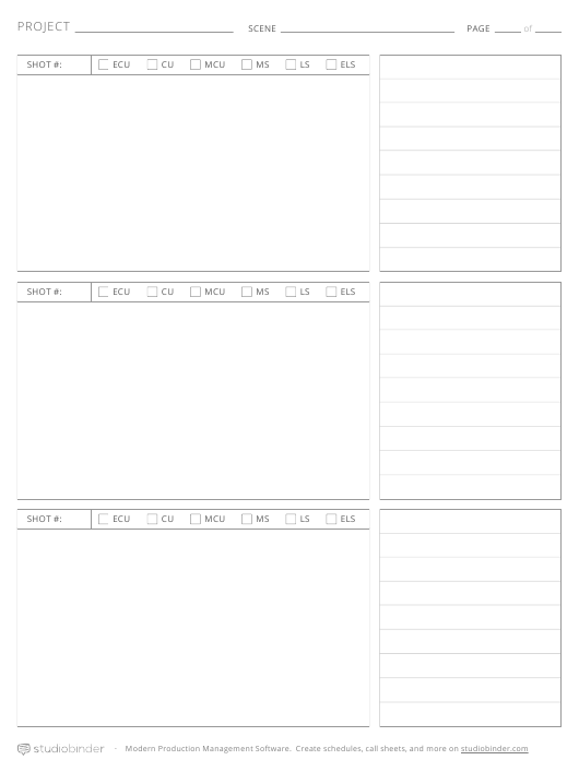 """Project Schedule Template - Studiobinder"" Download Pdf"