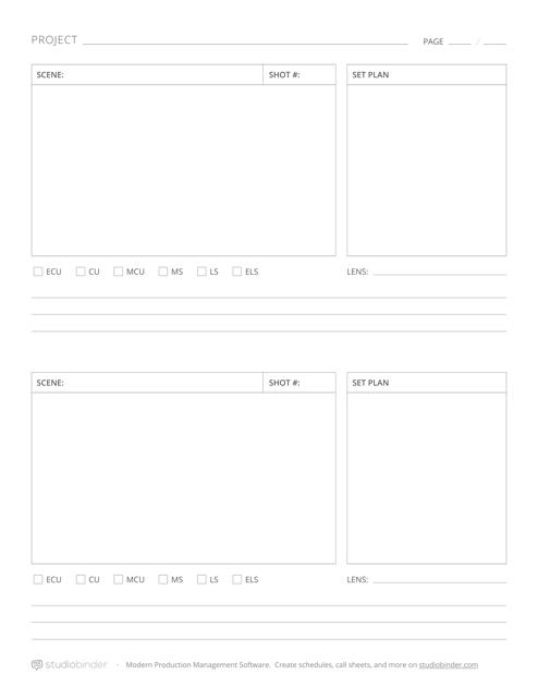 """Project Schedule Template - Studiobinder"" Download Pdf"