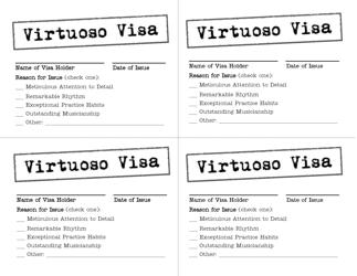 """Virtuoso Visa Card Templates"""
