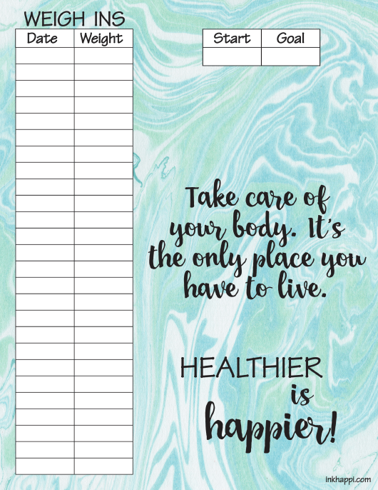 blue weight tracking chart template download printable pdf