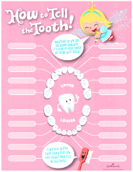 """Tooth Loss Chart - Hallmark"""