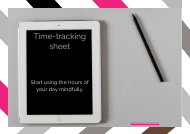 """Time-Tracking Spreadsheet Template"""