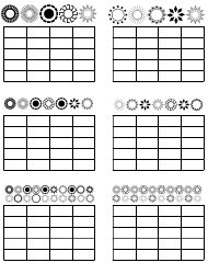 """""""Violin Practice Chart Template"""""""