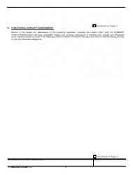 "Form SSA-4734-F4-SUP ""Mental Residual Functional Capacity Assessment"", Page 3"