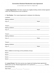 Real Estate Lease Agreement Template Download Printable PDF