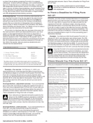 "Instructions for IRS Form 941-X ""Adjusted Employer's Quarterly Federal Tax Return or Claim for Refund"", Page 3"