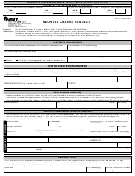 "Form ISD01 ""Address Change Request"" - Virginia"