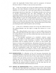"""""""Limited Liability Company Operating Agreement Template"""" - Alaska, Page 11"""