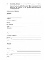 """""""Limited Liability Company Operating Agreement Template"""" - Alaska, Page 14"""