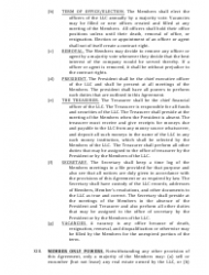 """""""Limited Liability Company Operating Agreement Template"""" - Alaska, Page 5"""
