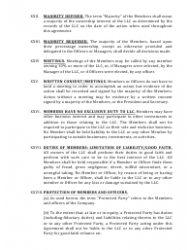 """""""Limited Liability Company Operating Agreement Template"""" - Alaska, Page 7"""