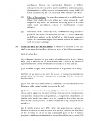 """""""Limited Liability Company Operating Agreement Template"""" - Alaska, Page 9"""