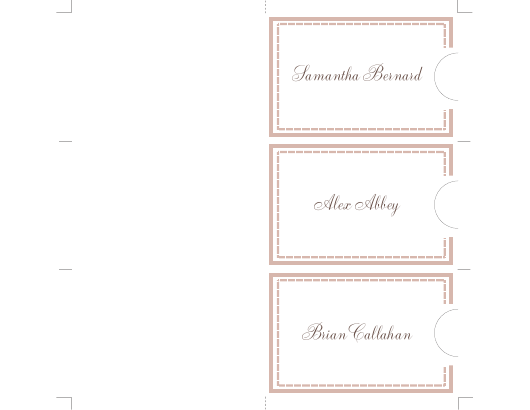 Form N/ Download Fillable PDF, Wedding Name Tag Templates