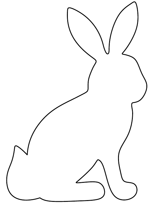 """Paper Rabbit Template"" Download Pdf"