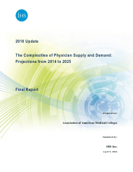 """The Complexities of Physician Supply and Demand: Projections From 2014 to 2025 - Ihs Inc."""