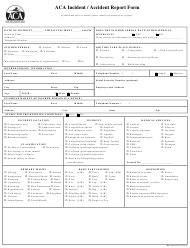 """Incident / Accident Report Form - Arlington Classics Academy"""