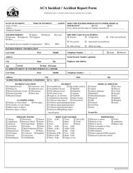 Incident / Accident Report Form - Arlington Classics Academy