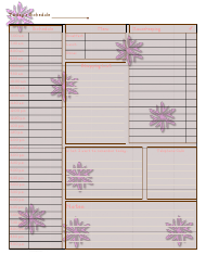 """Pink Daily Schedule Template"""