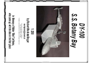 """Dy-100 S.s. Botany Bay Paper Model Template"""
