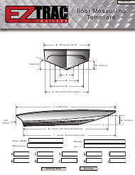 Boat Measuring Template - Ez Trac Trailers
