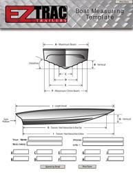 Boat Measuring Template - Ez Trac Trailers