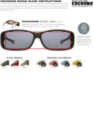 Eyewear Sizing Guide Chart - Cocoons