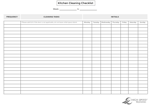 Training Checklist Template from data.templateroller.com