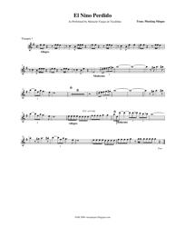 Mariachi Vargas De Tecalitlan - El Nino Perdido Sheet Music