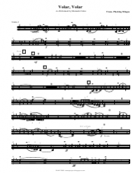 Mariachi Cobre - Volar Volar Sheet Music
