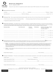 "Form 1B ""Beneficiary Designation"" - Mississippi"