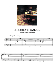 """Angelo Badalamenti - Audreys Dance Piano Sheet Music"""