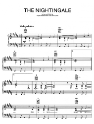 """Angelo Badalamenti and David Lynch - the Nightingale Piano Sheet Music"""