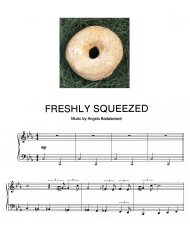 """Angelo Badalamenti - Freshly Squeezed Piano Sheet Music"""