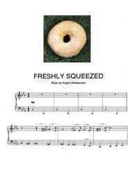 Angelo Badalamenti - Freshly Squeezed Piano Sheet Music