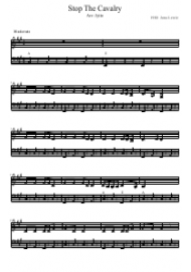 Jona Lewie - Stop the Cavalry Sheet Music