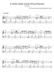 G. Brooker, K. Reid, M. Fisher - a Whiter Shade of Pale (Procol Harum) Sheet Music