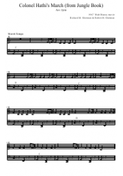 Richard M. Sherman & Robert B. Sherman - Colonel Hathi's March Sheet Music