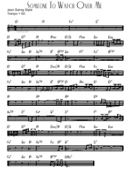 Someone To Watch Over Me Acoustic Piano Sheet Music